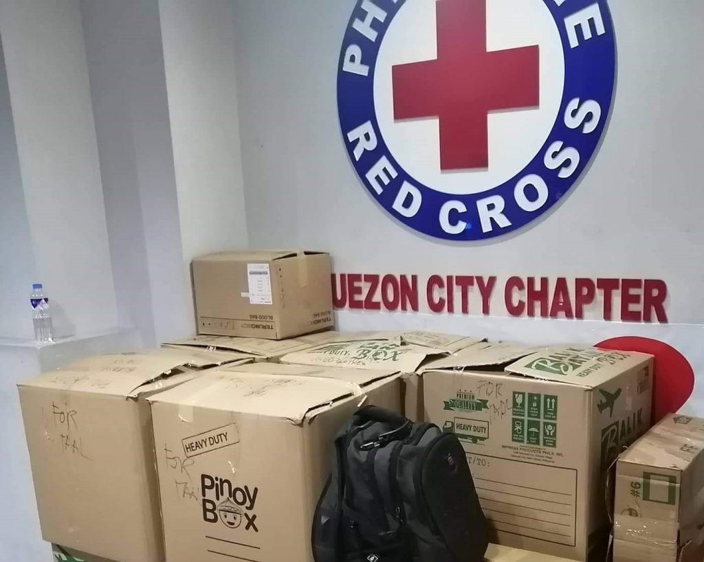 Donation to PRC
