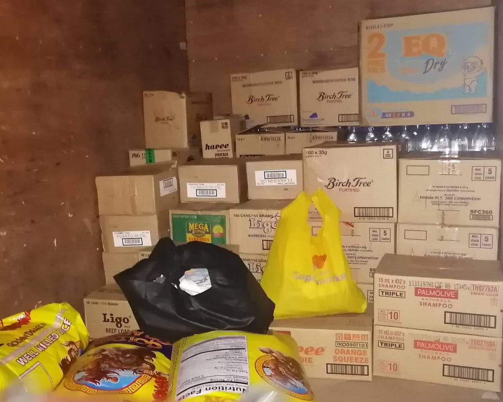 Donation to Taal Volcano Evacuees