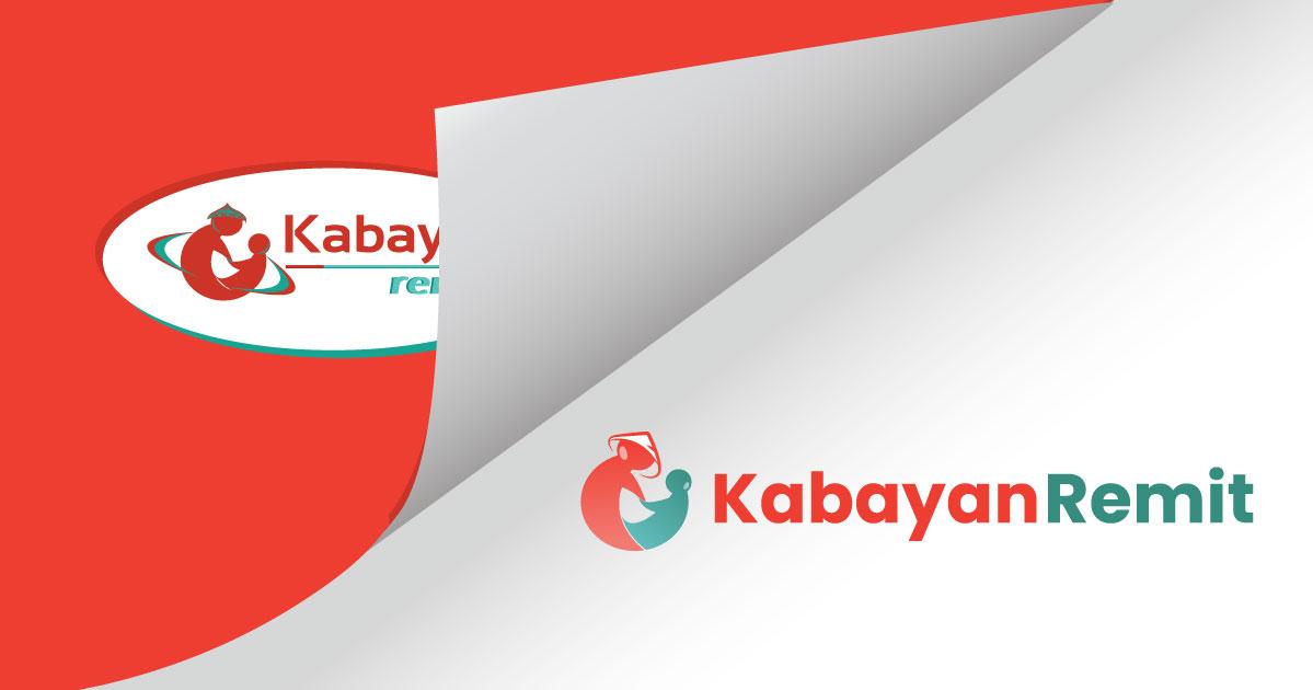 Kabayan Remit unfolding new logo