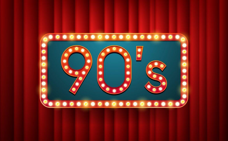 90s with LED lights illustration
