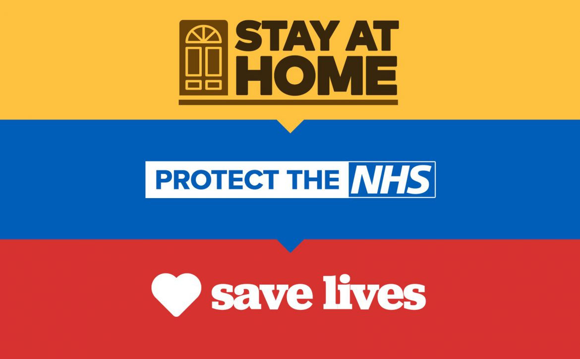 Stay at home. Protect the NHS. Save Lives