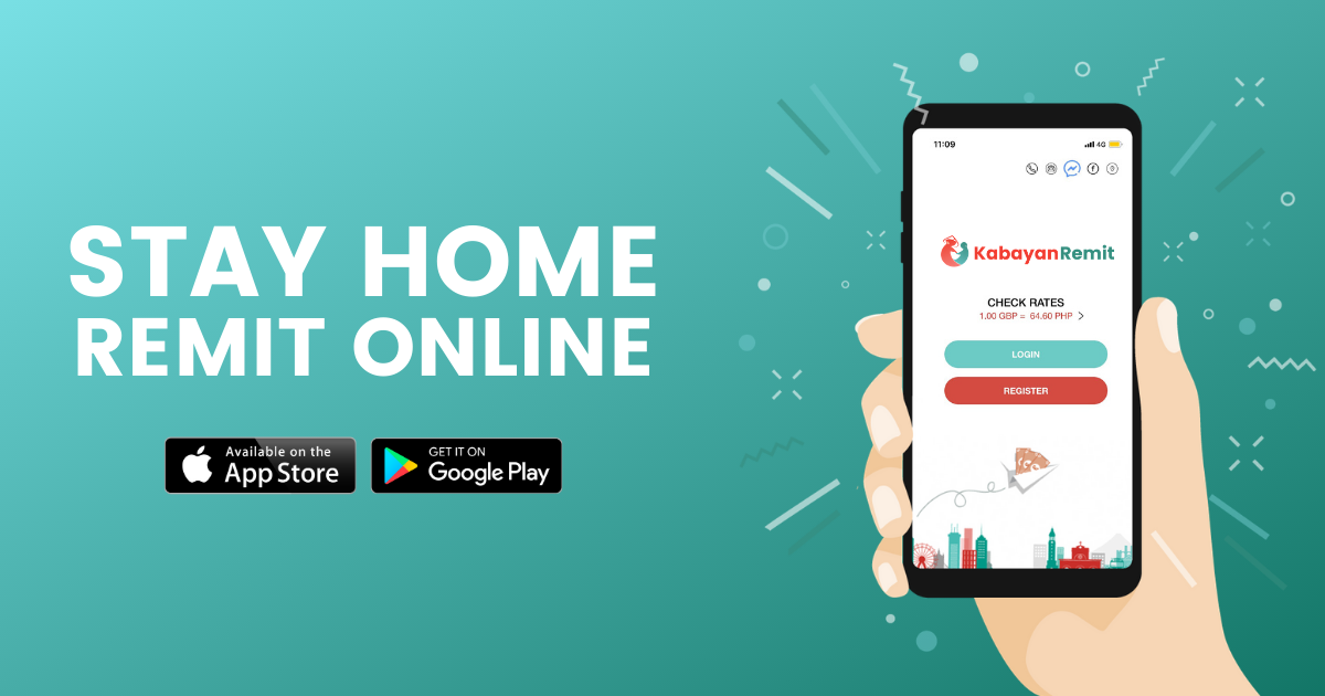 stay home download app kabayan remit