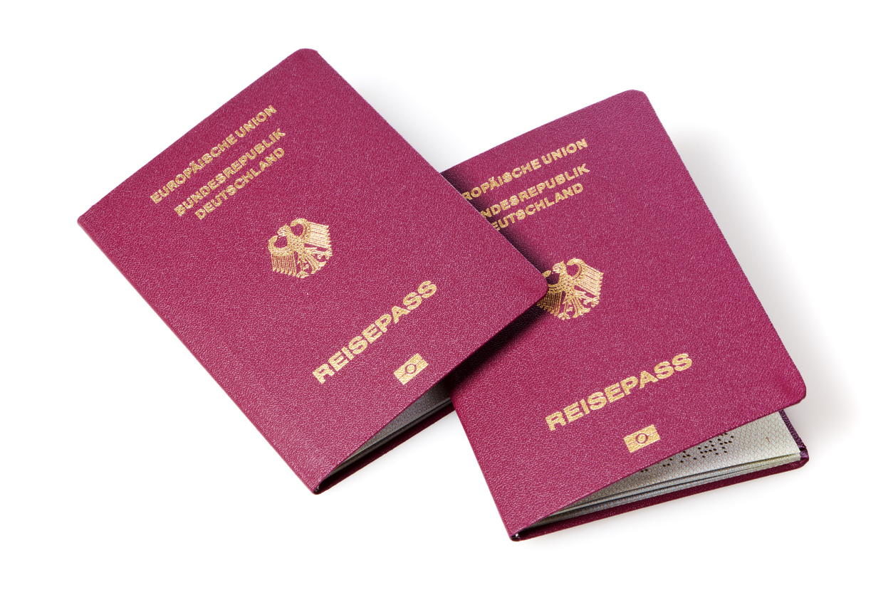 Two German passports