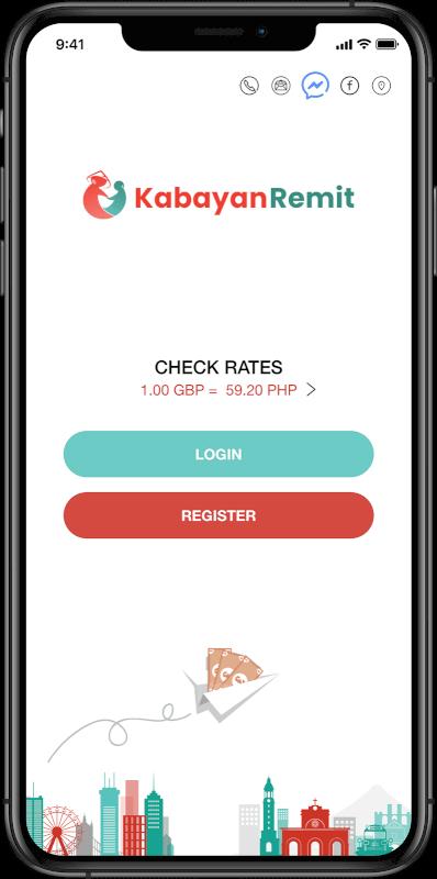 kabayan remit ios app