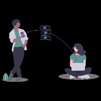 send funds illustration